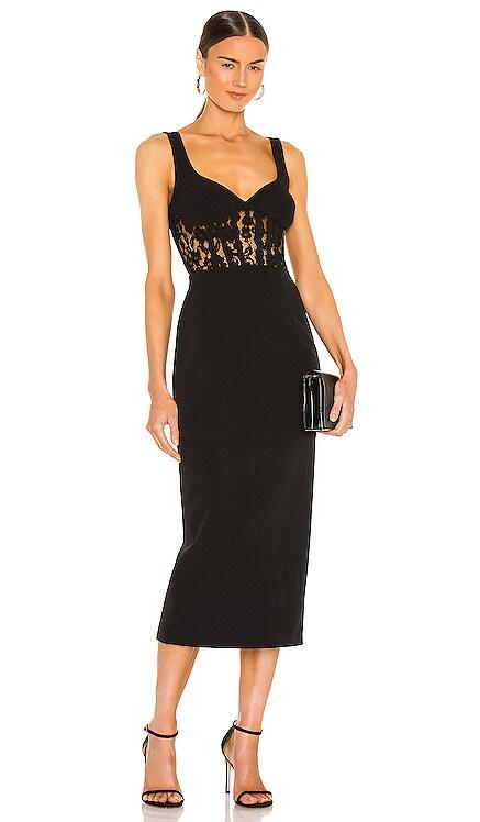 Corset Lace Panel Dress Bardot $139 NEW