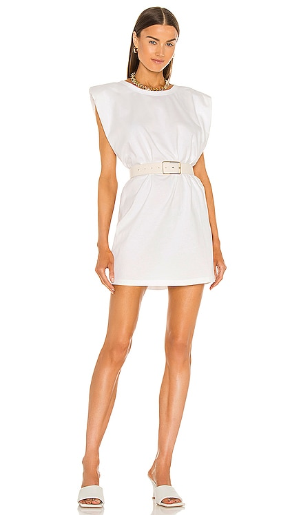Shoulder Pad Mini Dress Bardot $79