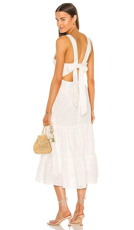 Reign Maxi Dress Bardot $159 NEW