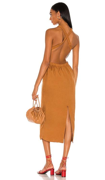 The Grecian Midi Dress Bardot $129 NEW