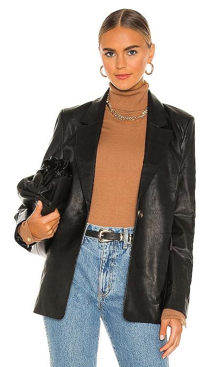 PU Blazer Bardot $139