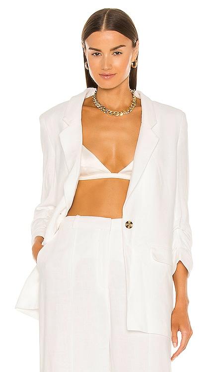 Tuck Sleeve Linen Blazer Bardot $129 Sustainable