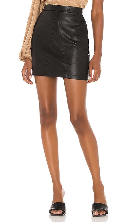 Alexis PU Skirt Bardot $69 BEST SELLER