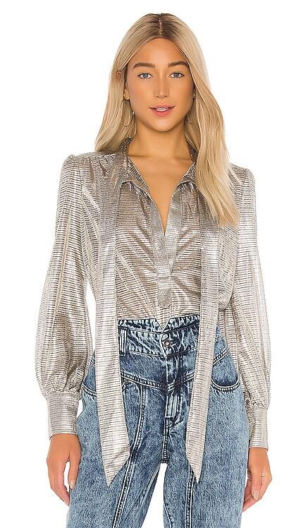 Metallic Blouse Bardot $79