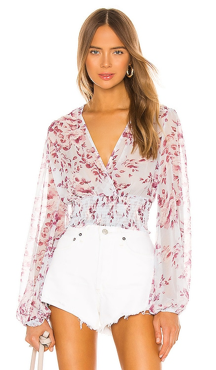 Mable Blouse Bardot $79 BEST SELLER