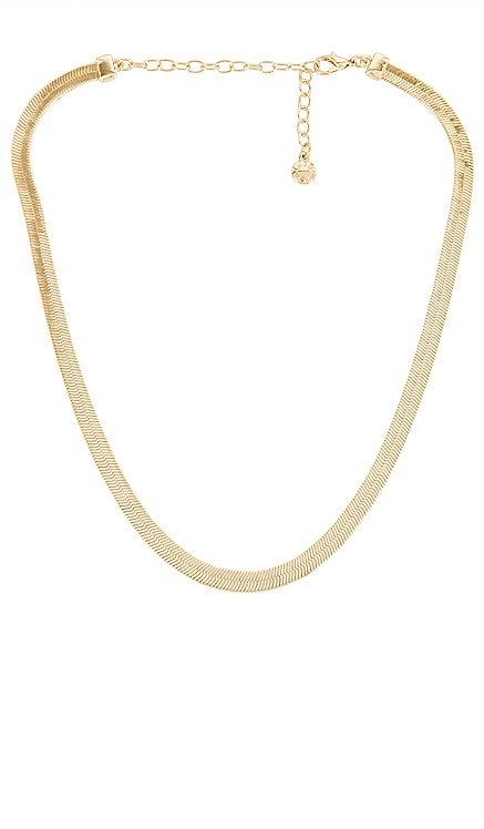 Gia Herringbone Necklace BaubleBar $42 NEW