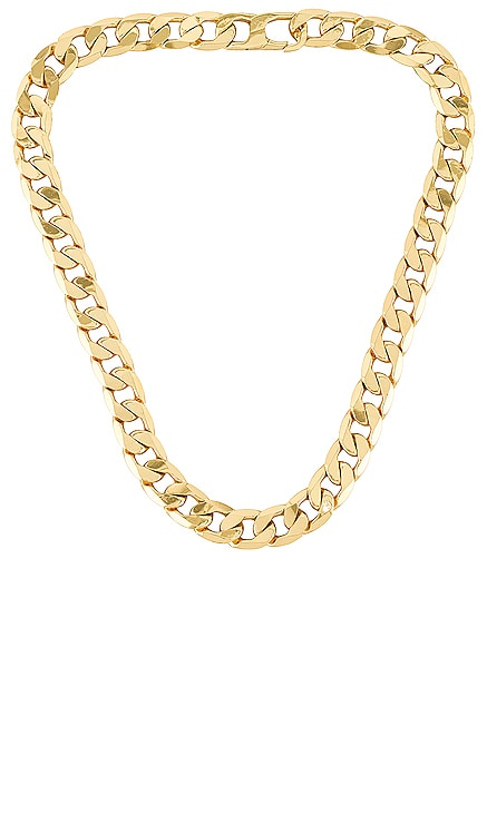 Large Michel Curb Chain Necklace BaubleBar $48
