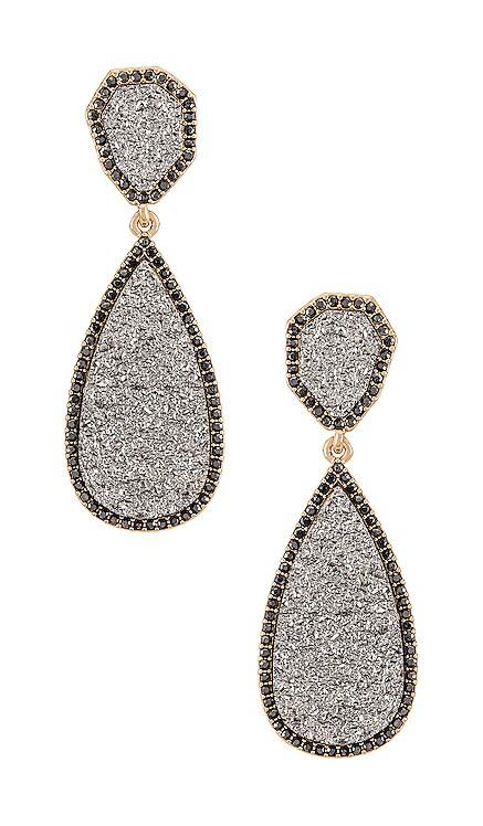 Moonlight Druzy Drop Earrings BaubleBar $36