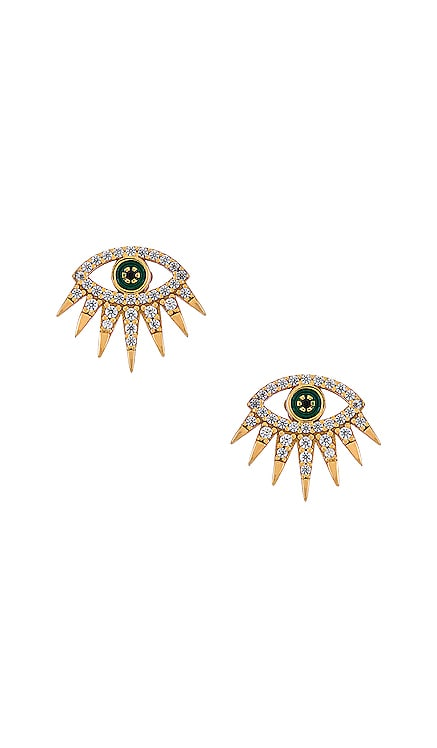 Tali 18k Gold Vermeil Stud Earrings BaubleBar $58 BEST SELLER