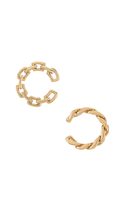 Michel Curb Chain Ear Cuff Set BaubleBar $34
