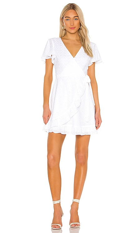 JACK by BB Dakota Easy On The Eyelet Wrap Dress BB Dakota $89