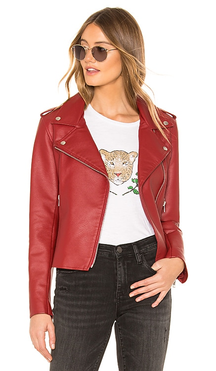 Just Ride Faux Leather Jacket BB Dakota $69
