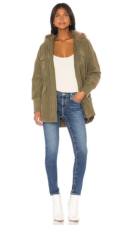 JACK by BB Dakota Call Of The Wild Faux Fur Trim Jacket BB Dakota $65