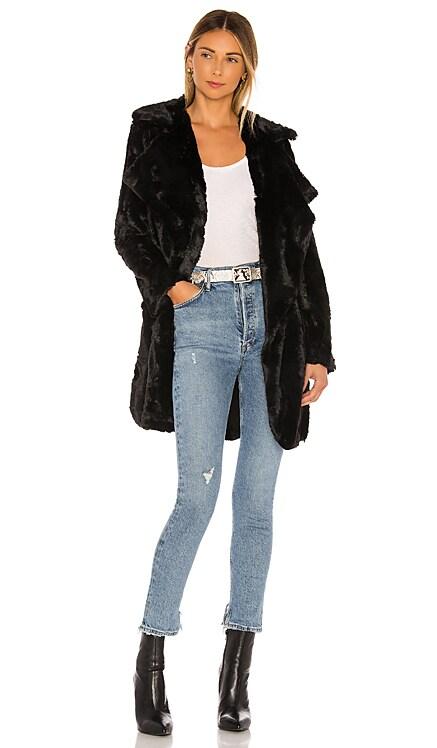 Jack By BB Dakota Shear Factor Faux Fur Coat BB Dakota $97