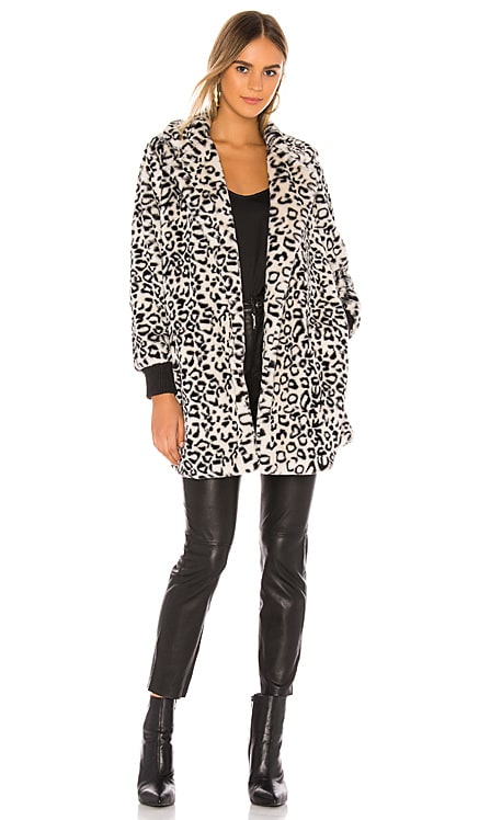 MANTEAU IMITATION FOURRURE TOP CAT BB Dakota $44 (SOLDES ULTIMES)