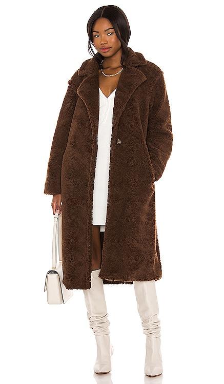 Paddington Faux Fur Coat BB Dakota by Steve Madden $90