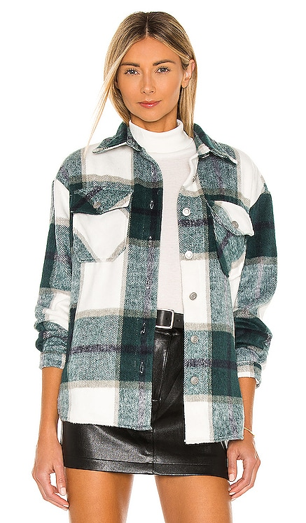 Plaid Shirt Jacket BB Dakota $99
