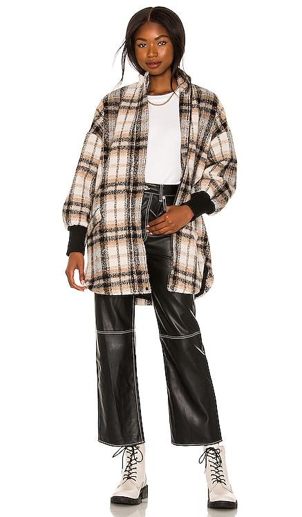 Plaid Times Coat BB Dakota by Steve Madden $129