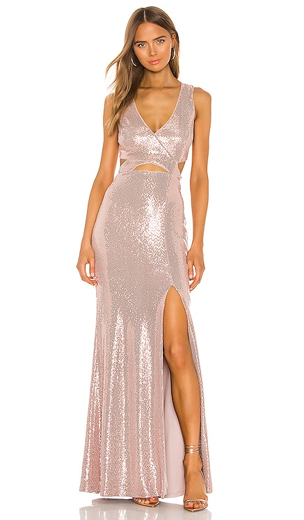 Cut Out Gown BCBGMAXAZRIA $338 NEW ARRIVAL