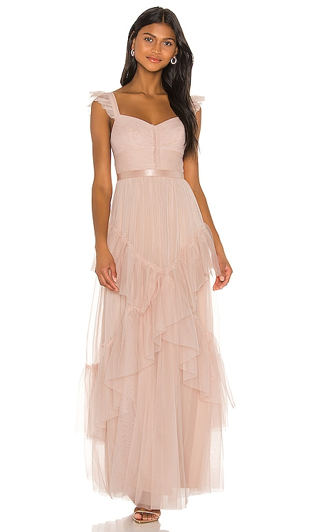 Tiered Ruffle Gown BCBGMAXAZRIA $448 NEW ARRIVAL