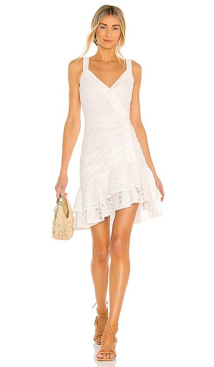 Ruffle Hem Mini Dress BCBGMAXAZRIA $248 BEST SELLER