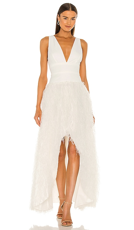 High Low Gown BCBGMAXAZRIA $468 Wedding
