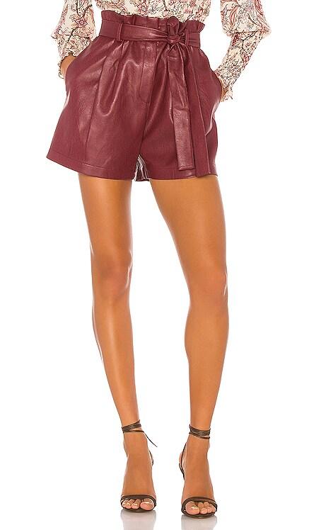 Faux Leather Shorts BCBGMAXAZRIA $111