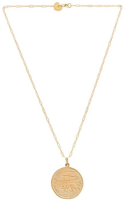Alexander Coin Necklace BRACHA $44