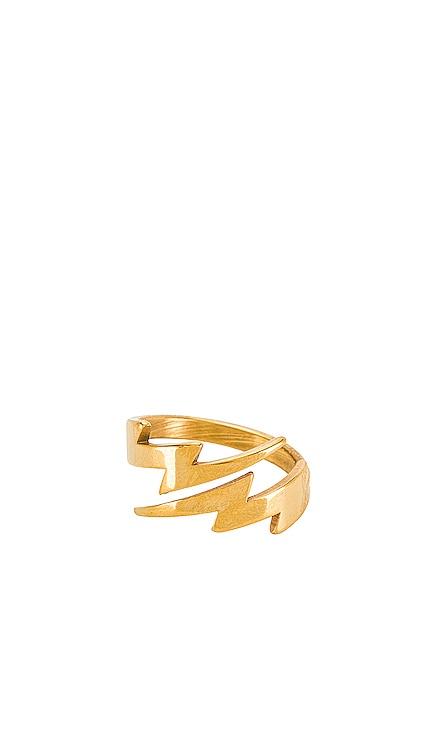 Lightning Bolt Ring BRACHA $44