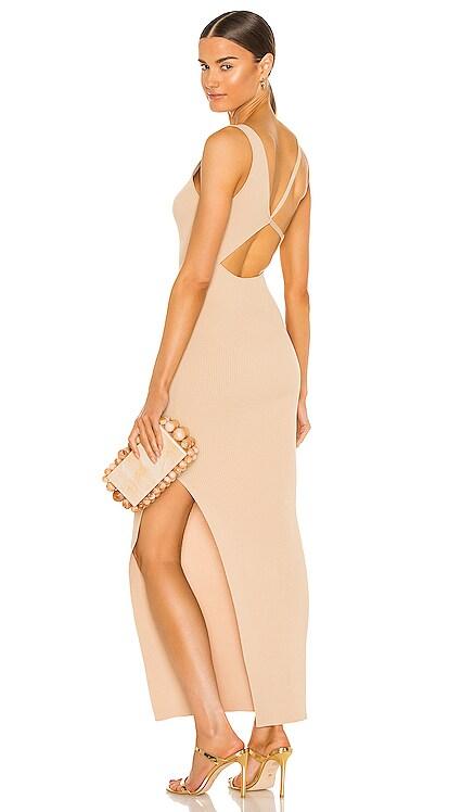 Harper Knit Asymmetrical Dress BEC&BRIDGE $299