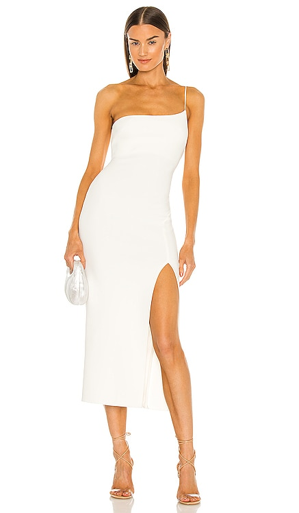 Fleur Asymmetrical Midi Dress BEC&BRIDGE $260 NEW