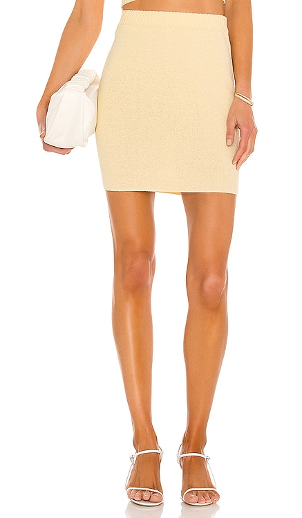 Mimi Knit Mini Skirt BEC&BRIDGE $170