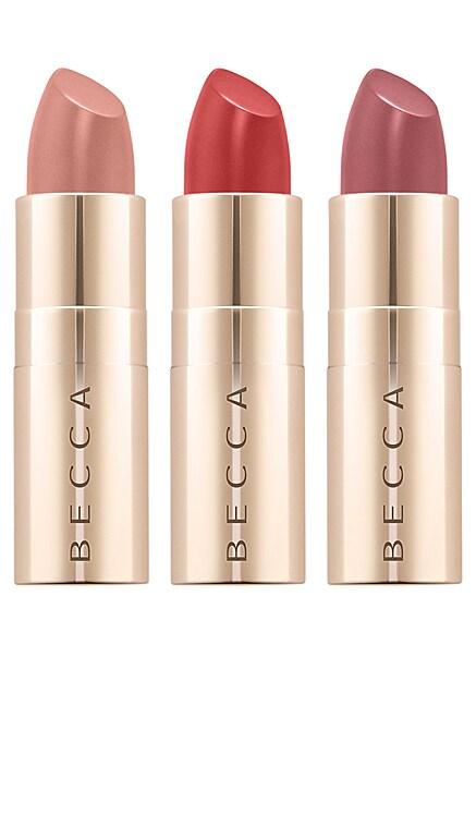 Party Popper Ultimate Lipstick Love Mini Kit BECCA Cosmetics $25