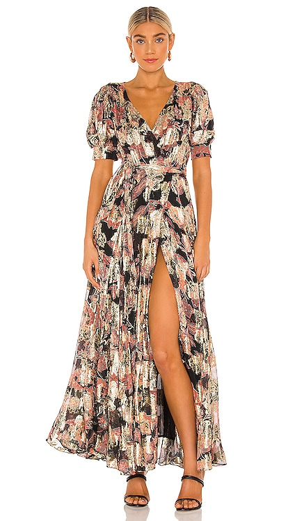 Sion Maxi Dress HEMANT AND NANDITA $744 NEW