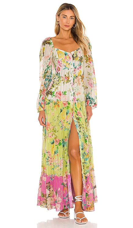 Jolie Maxi Dress HEMANT AND NANDITA $498 NEW