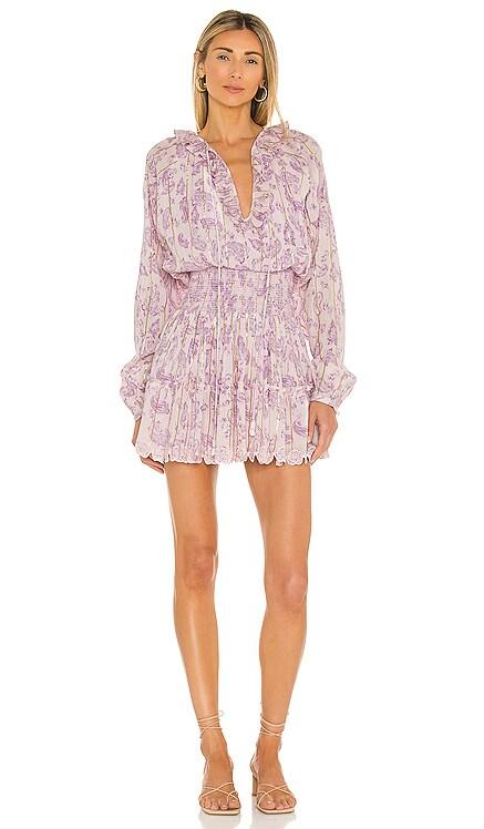 Sahar Shirred Mini Dress HEMANT AND NANDITA $294
