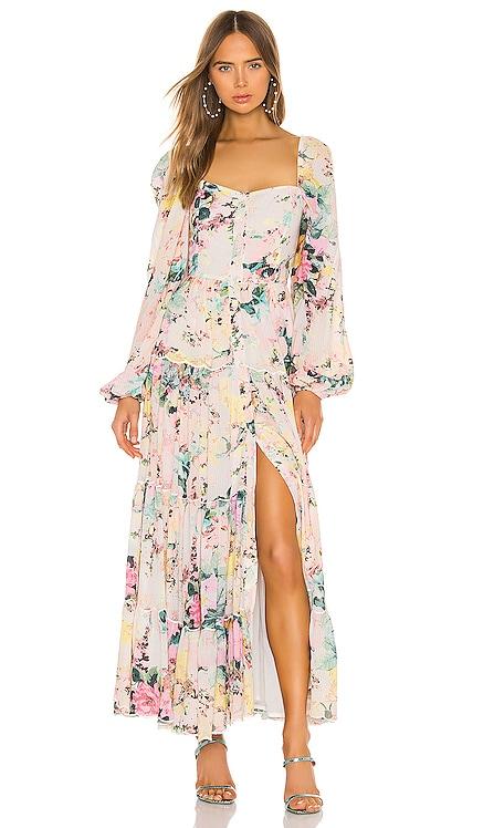Teien Maxi Dress HEMANT AND NANDITA $498 BEST SELLER