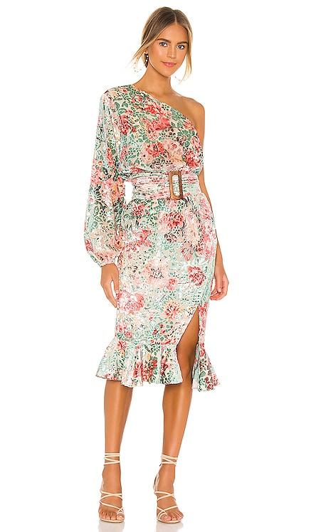 Olivia Midi Dress HEMANT AND NANDITA $367