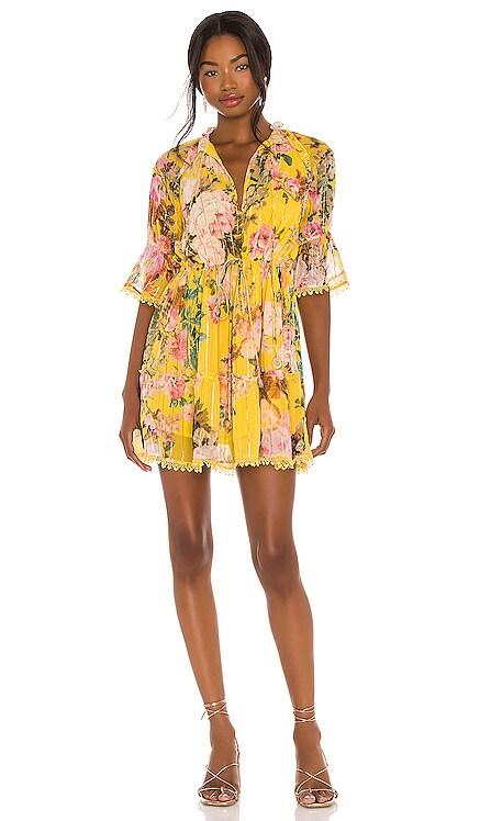 X REVOLVE Fluer Mini Dress HEMANT AND NANDITA $350 NEW