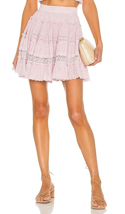 Sahar Tiered Mini Skirt HEMANT AND NANDITA $240