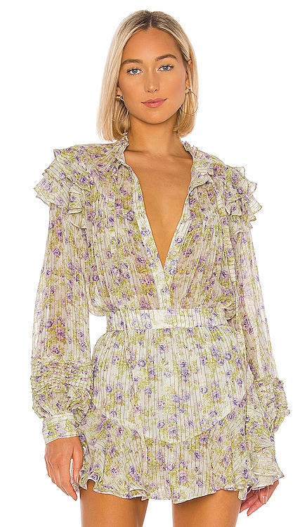 x REVOLVE  Apollo Blouse HEMANT AND NANDITA $167