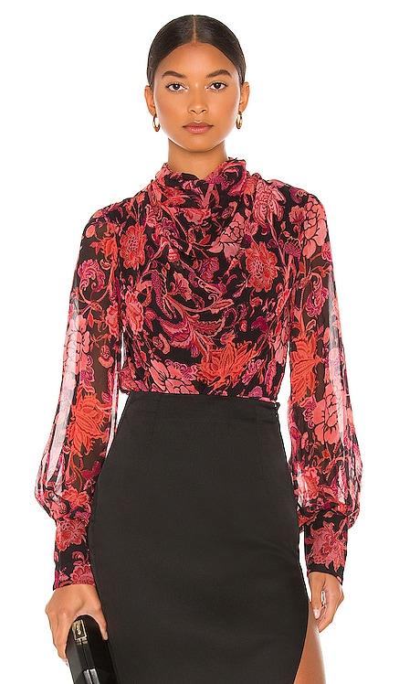 X REVOLVE Crimson Bodysuit HEMANT AND NANDITA $257 NEW