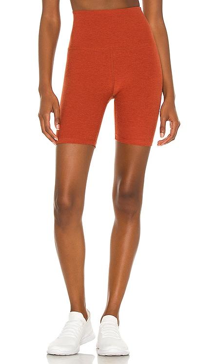 Spacedye High Waisted Biker Short Beyond Yoga $68 NEW
