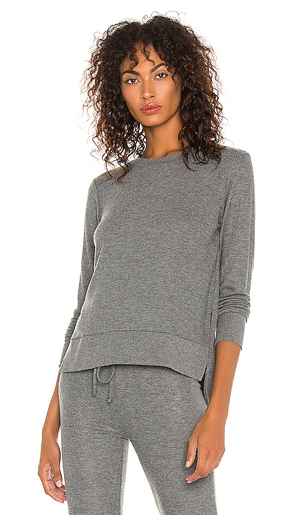 Just Chillin Long Sleeve Pullover Beyond Yoga $79 NEW