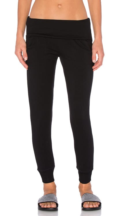 Cozy Fleece Foldover Sweatpant Beyond Yoga $99 BEST SELLER