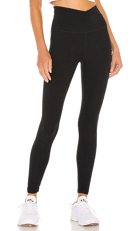 Spacedye At Your Leisure High Waisted Midi Legging Beyond Yoga $99 NUEVO