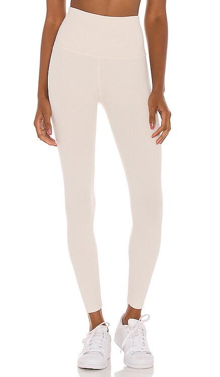 Heather Rib Midi Legging Beyond Yoga $99 NEW