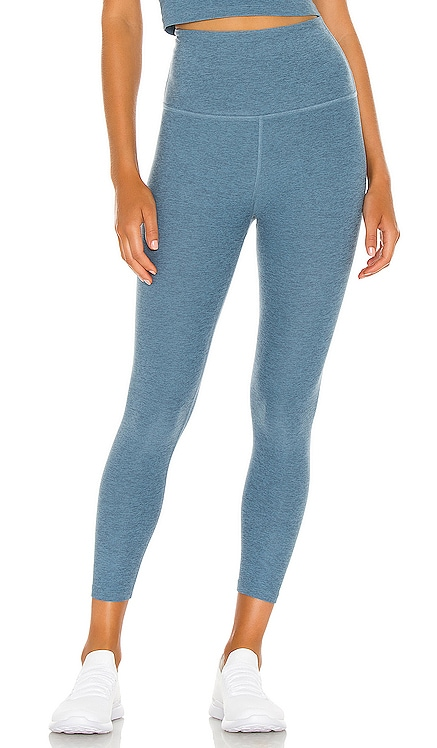 Spacedye Walk And Talk High Waisted Capri Legging Beyond Yoga $88 NEW