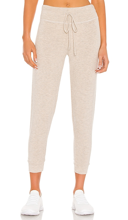 Brushed Up Lounge Around Midi Jogger Beyond Yoga $88 BEST SELLER
