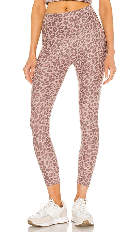 Spacedye Printed Caught in the Midi High Waisted Legging Beyond Yoga $99